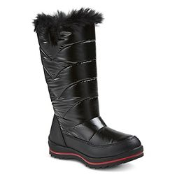 black biker boots girls : Target