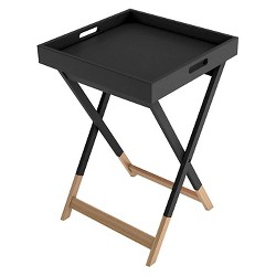 Wood Tray Side Table - urb SPACE