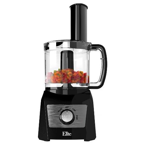 Elite Platinum  Cup Food Processor In Black