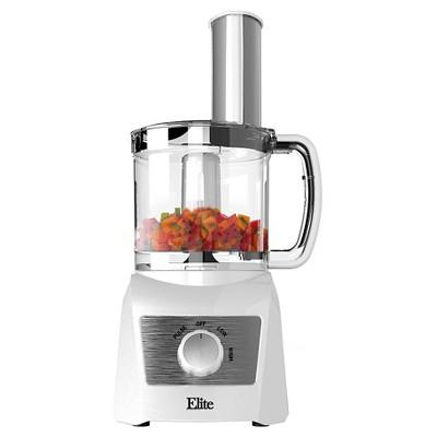 Elite Platinum 3 Cup Food Processor - White