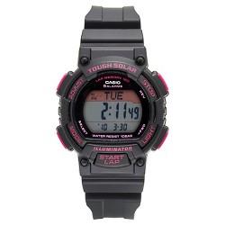 Women's Casio Solar-Powered Runner Watch - Black