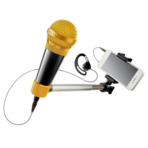 selfie mic karaoke meets selfie stick target. Black Bedroom Furniture Sets. Home Design Ideas