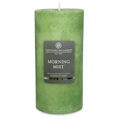Pillar Candle Morning Mist 6 x3  - Chesapeake Bay Candle®