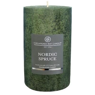 Pillar Candle Nordic Spruce 7 x4  - Chesapeake Bay Candle®