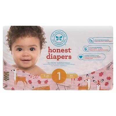 Honest Company Diapers Deer - Size 1 (44 Count)