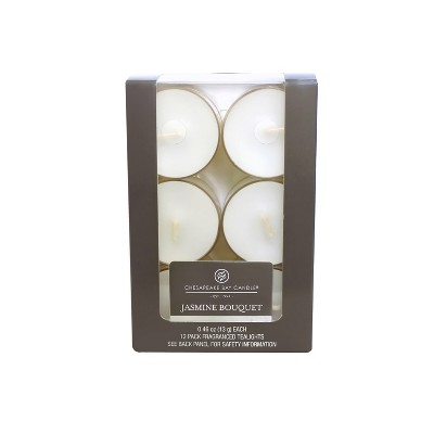 12pk Tealight Jasmine Bouquet - Chesapeake Bay Candle®