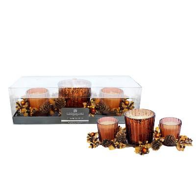 Chesapeake Bay Candle French Vanilla Gift Set (3pk Rings)