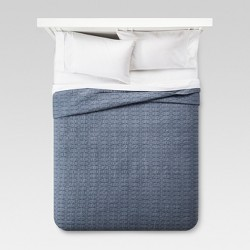 Relaxed Wash Diamond Stitch Quilt - Threshold™
