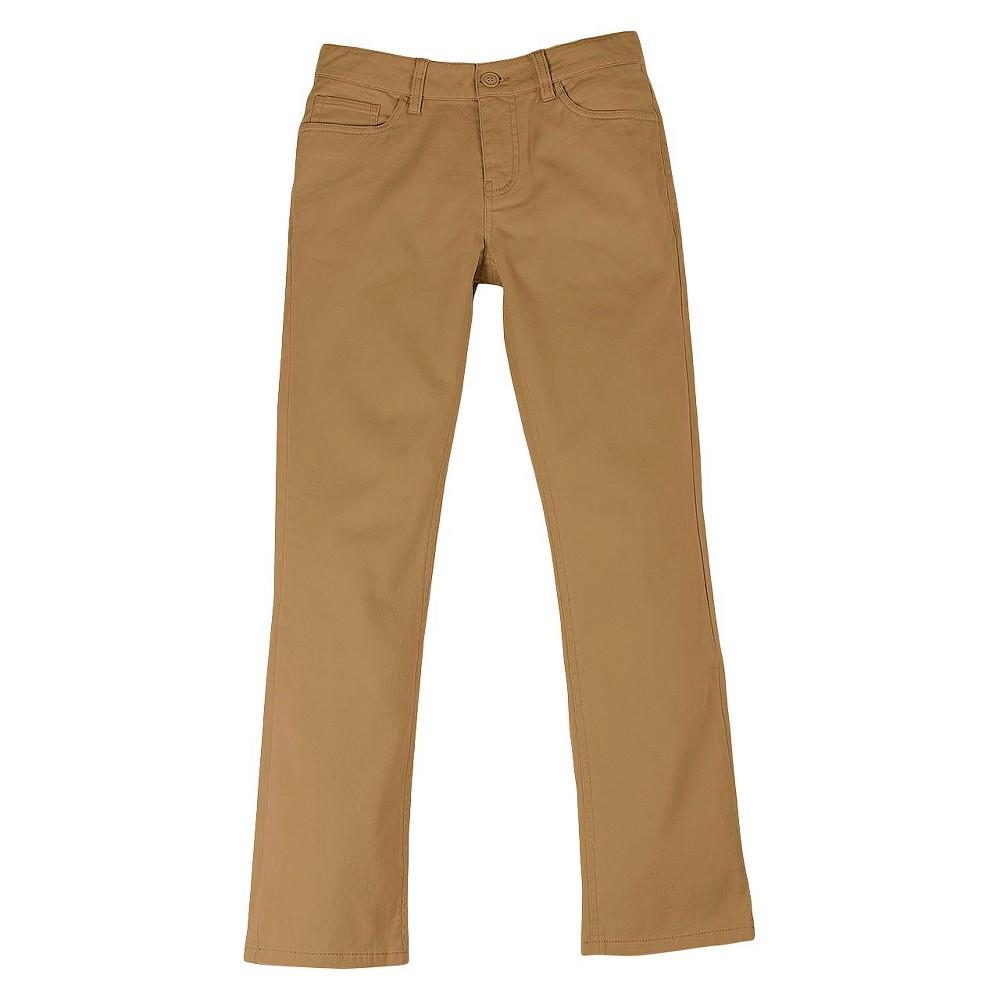 No Fear Boys' Stretch Twill Pant – Camel 14, Boy's