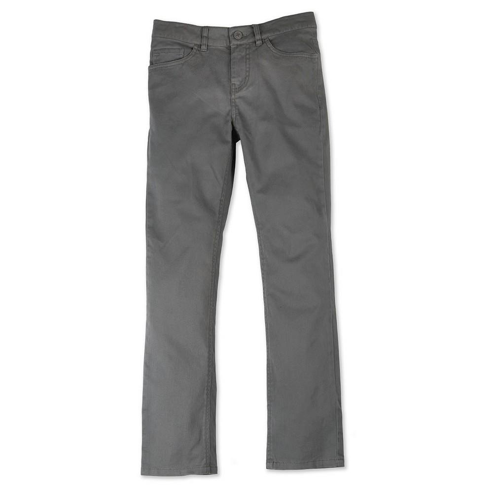 No Fear Boys' Stretch Twill Pant – Magnet 18, Boy's, Dark Grey