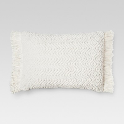Sour Cream Throw Pillow - Threshold™