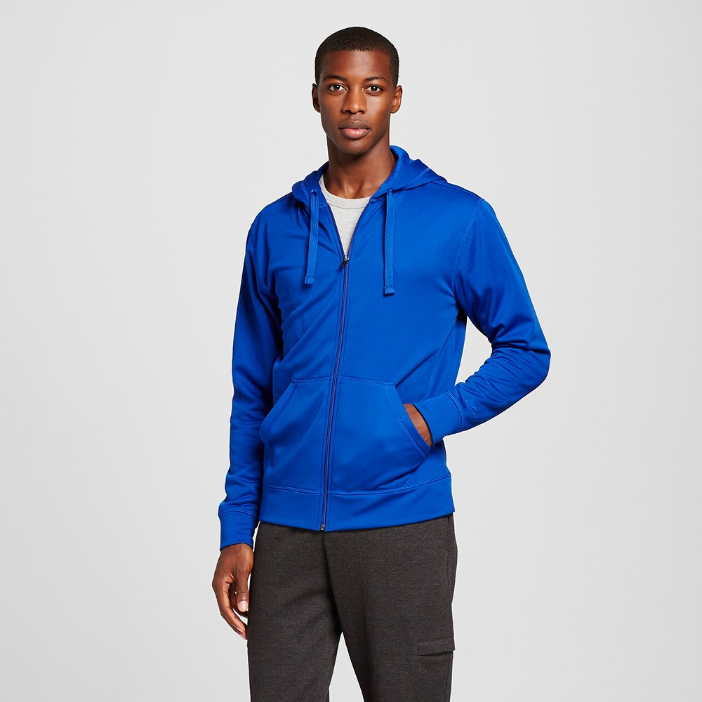 Men's Tech Fleece Full Zip Hoodie - C9 Champion Blue L