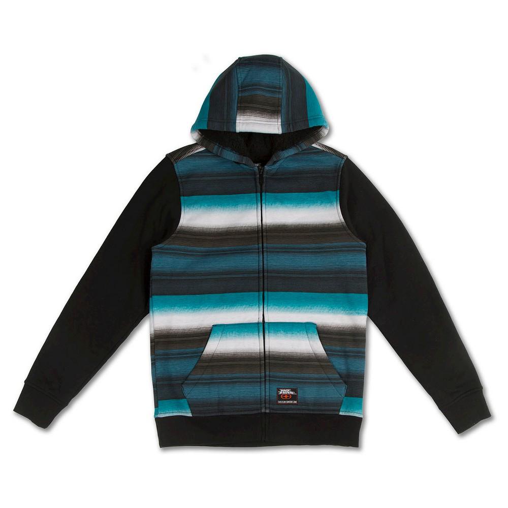 No Fear Boys' Fleece Sweatshirt – Turquoise M, Boy's