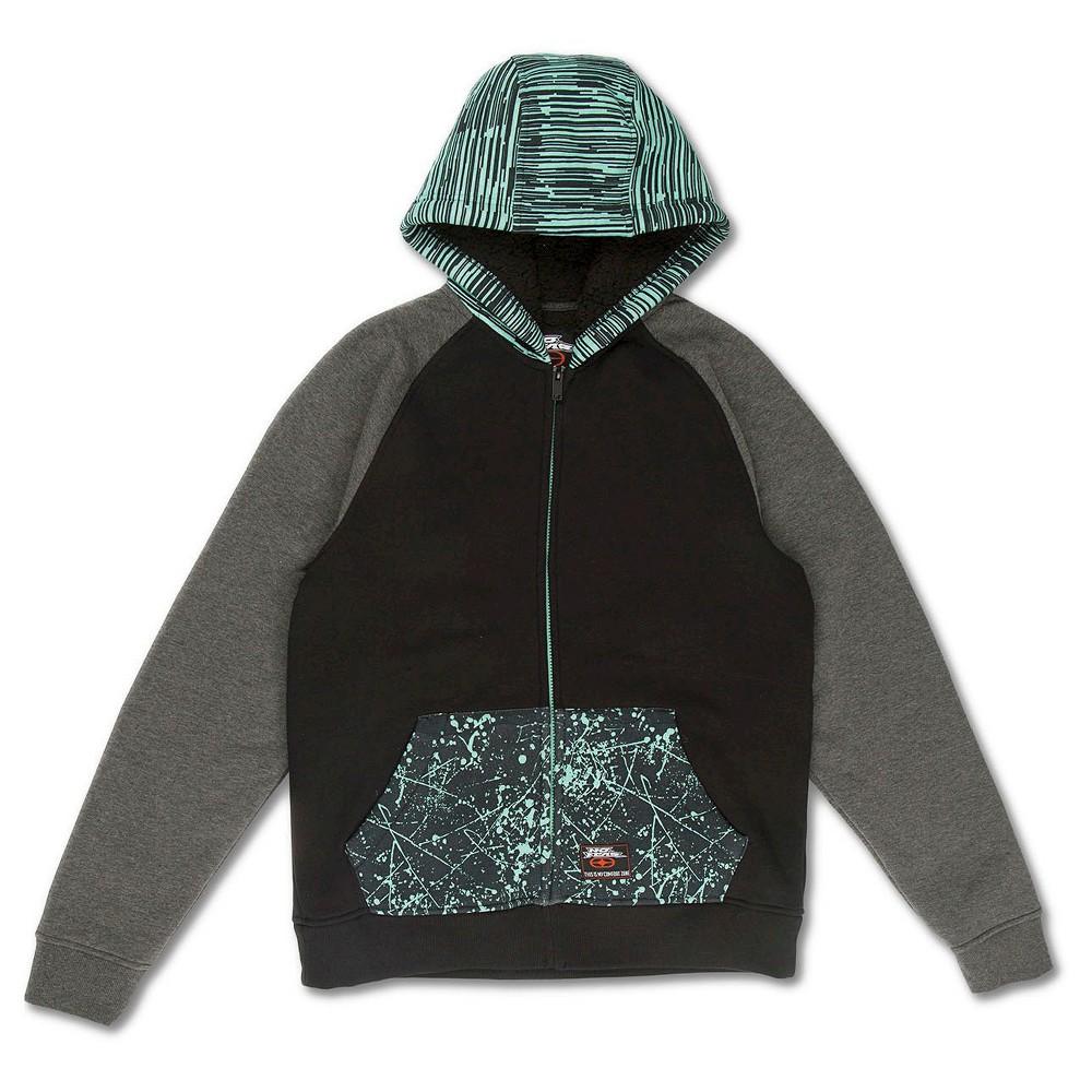 No Fear Boys' Fleece – Mint XL, Boy's, Black White