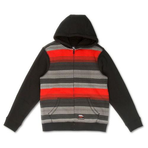No Fear Boys' Fleece Sweatshirt - Red S, Boy's, Fiesta Red