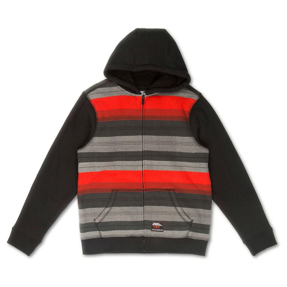 No Fear Boys' Fleece Sweatshirt – Red L, Boy's, Fiesta Red