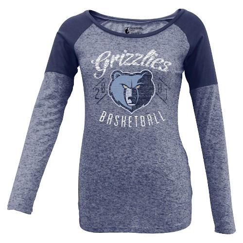 Memphis Grizzlies Women's Long Sleeve T-Shirt M