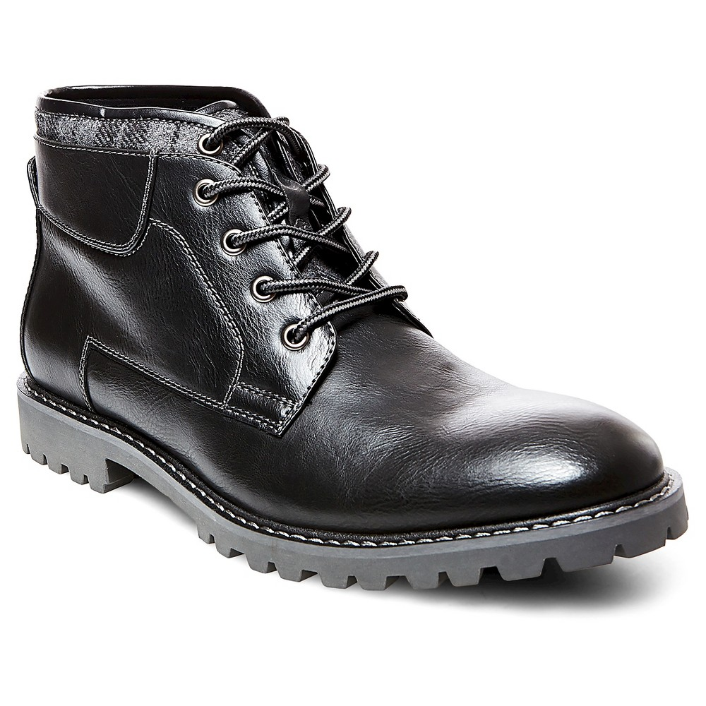 Mens SoHo Cobbler Sean Sweater Top Chukka Boots - Black 9