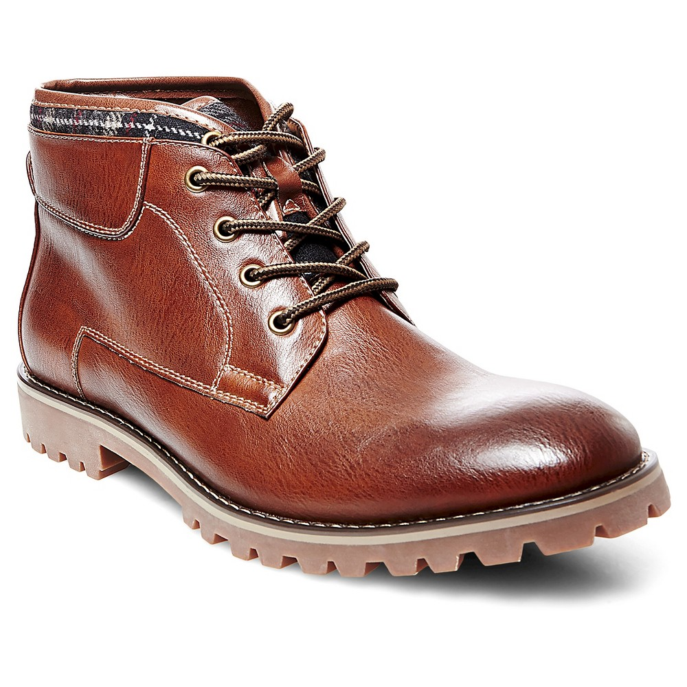 Mens SoHo Cobbler Sean Sweater Top Chukka Boots - Tan 12