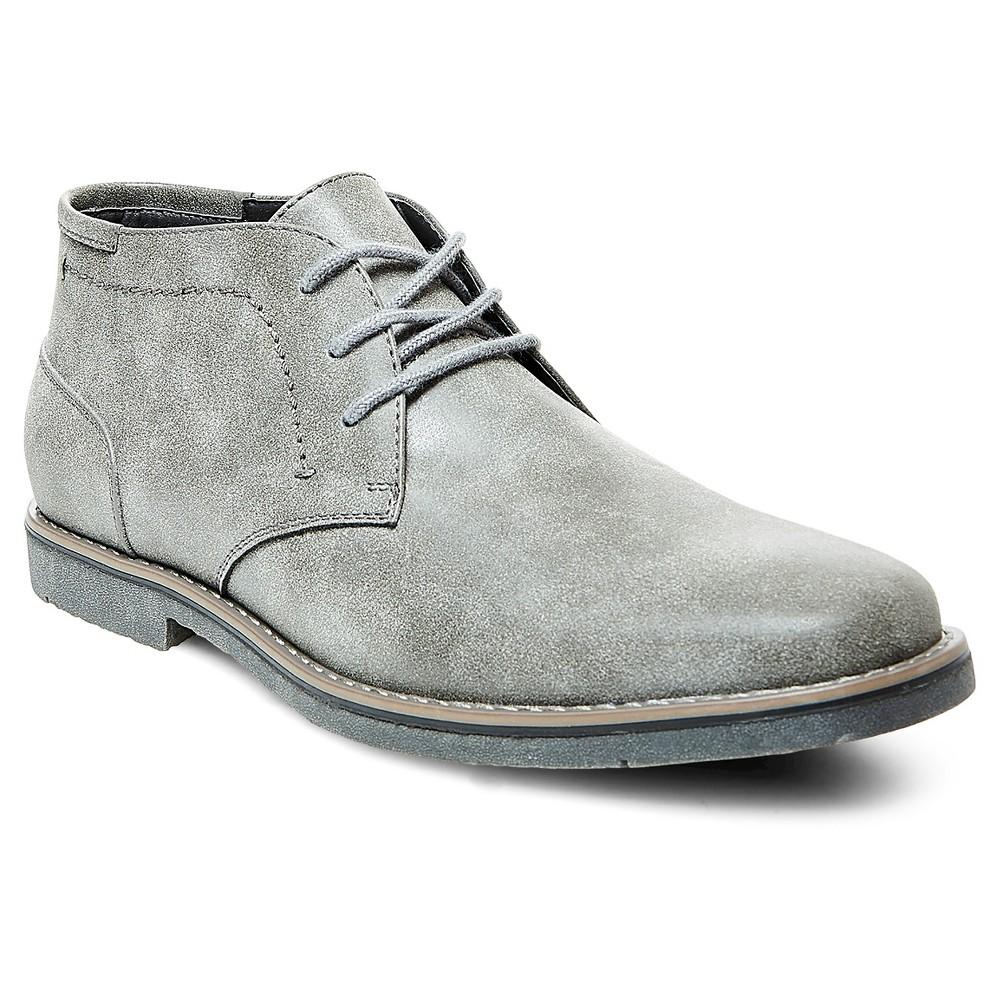 Mens SoHo Cobbler Adam Chukka Boots - Gray 7