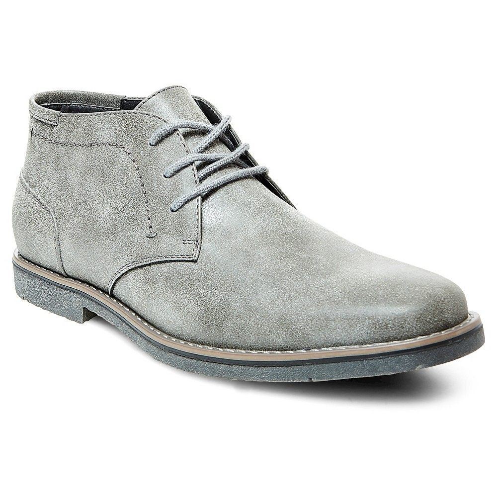Mens SoHo Cobbler Adam Chukka Boots - Gray 8