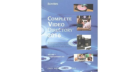 Bowker's Complete Video Directory 2016 (Hardcover) - image 1 of 1