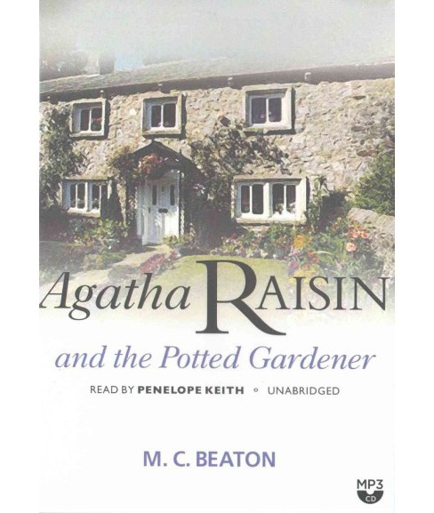 Agatha Raisin and the Potted Gardener : Library Edition (Unabridged) (MP3-CD) (M. C. Beaton) - image 1 of 1