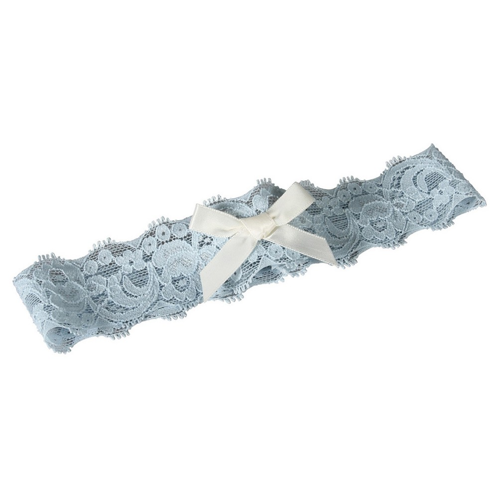 Layla Lace Wedding Accessory Set Blue/Ivory - S, Womens, Size: Small