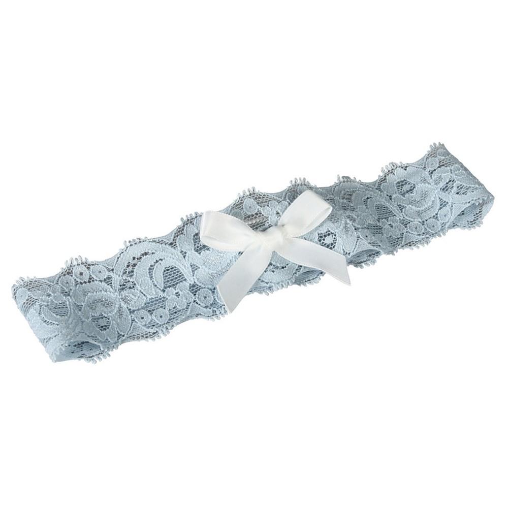 Layla Lace Wedding Accessory Set Blue/White - M, Womens, Size: Medium