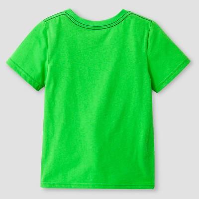 Toddler Boys' Short Sleeve T-Shirt Cat & Jack - Green 2T, Toddler Boy's