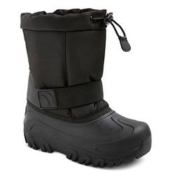 Boys' Nigel Toggle Top Winter Boots Cat & Jack™ - Black