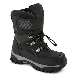 Boys' Newman Performance Winter Boots Cat & Jack™ - Black