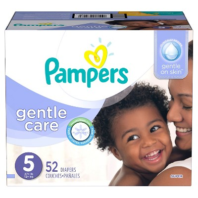 Pampers Gentle Care Baby Diapers Super Pack (Select Size)