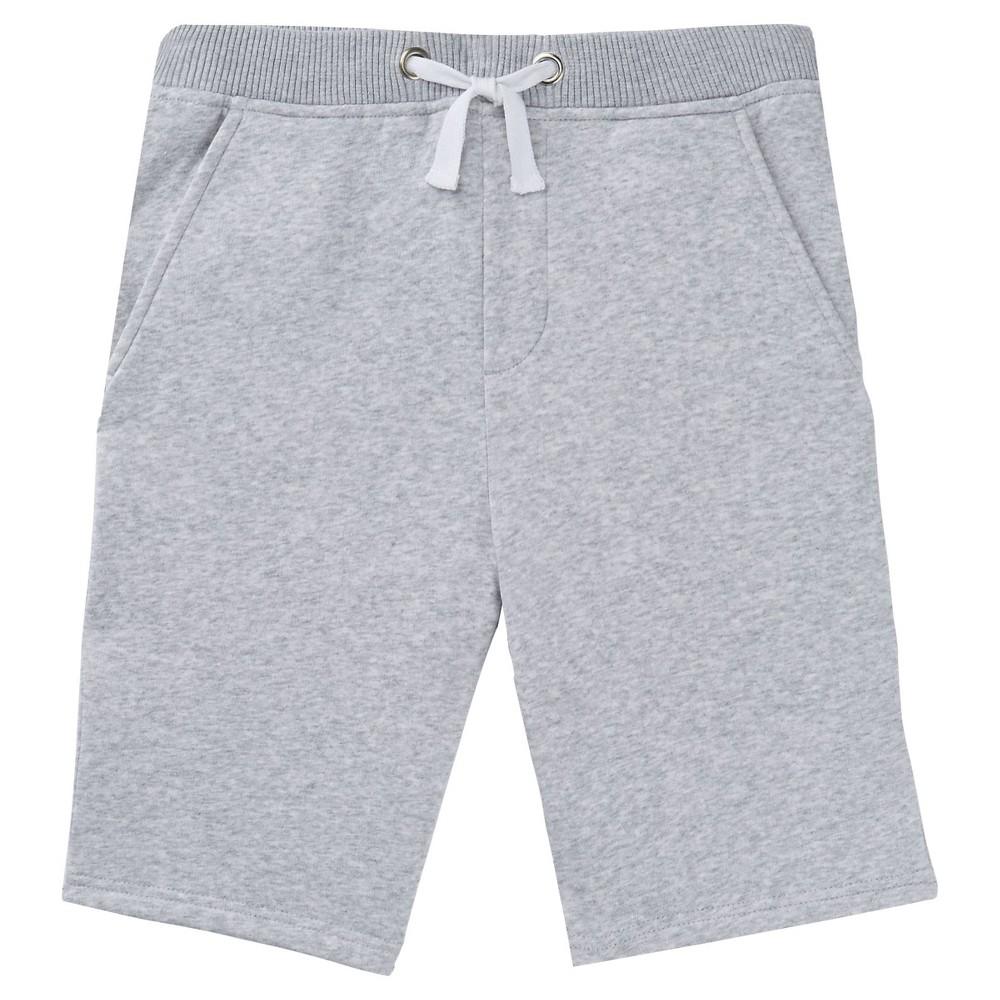 French Toast Boys Fleece Shorts - Charcoal Heather XS