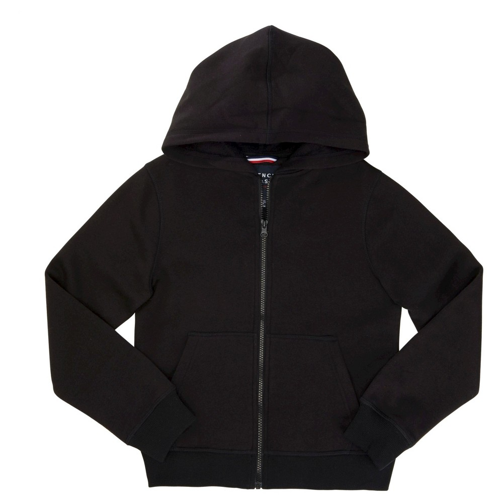 French Toast Boys' Fleece Hoodie - Black XL
