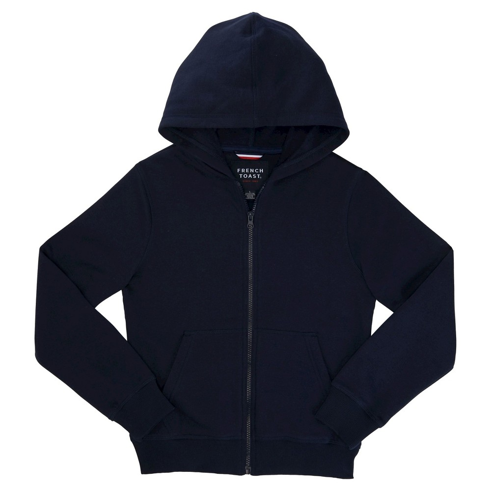 French Toast Boys' Fleece Hoodie - Navy (Blue) M