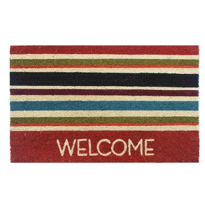 Navy Stripes Doormat - (1'6 x2'6 )- Threshold™