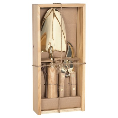 Garden Tool Set With Wooden Box In Copper/Brass Finish   Smith U0026 Hawken™