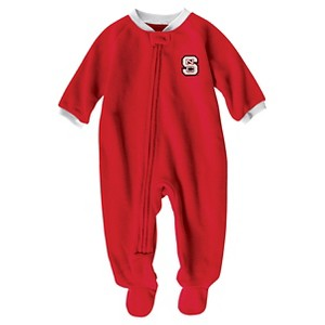 NCAA NC State Wolfpack Boys Footed Sleeper - 3-6 M, Infant Boy