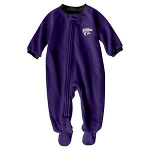 NCAA Kansas State Wildcats Boys Footed Sleeper - 6-9 M, Infant Boy