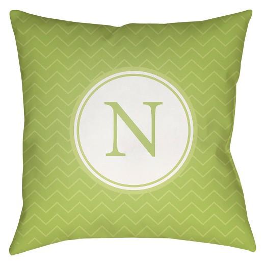 Target Green Throw Pillow : Green Nu Throw Pillow 18