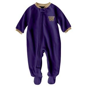 NCAA Washington Huskies Boys Footed Sleeper - 6-9 M, Infant Boy