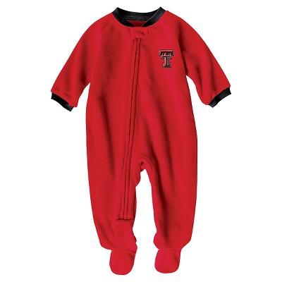 NCAA Texas Tech Red Raiders Boys' Footed Sleeper - 6-9 M