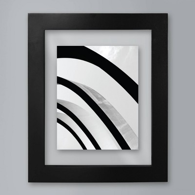 Wide Black Gallery 11 x14  Matted for 8 x10  Frame - Room Essentials™