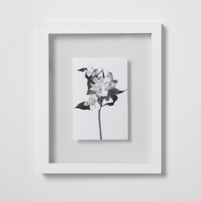 Thin Gallery Float Frame White 8 x10  - Made By Design™