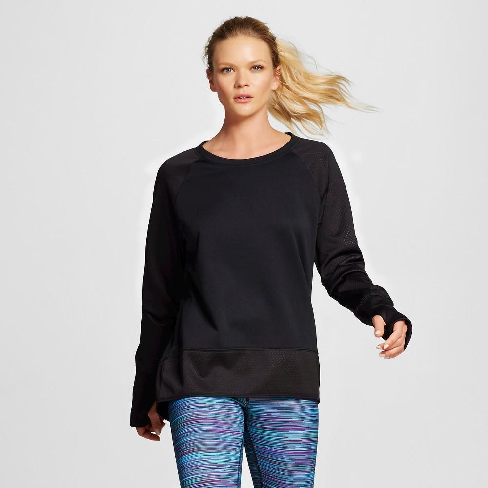 Women's Activewear Sweatshirt - Black M - C9 Champion