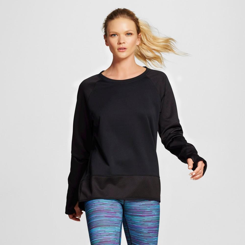 Women's Activewear Sweatshirt - Black L - C9 Champion