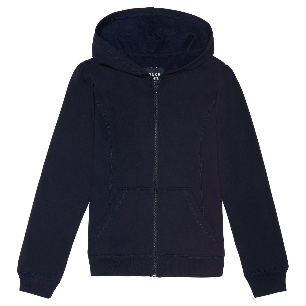 French Toast Girls Fleece Hoodie - Navy (Blue) XS