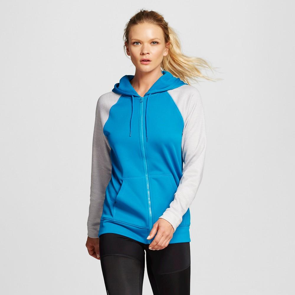 Women's Activewear Tech Fleece Sweatshirt - Underwater Blue S - C9 Champion