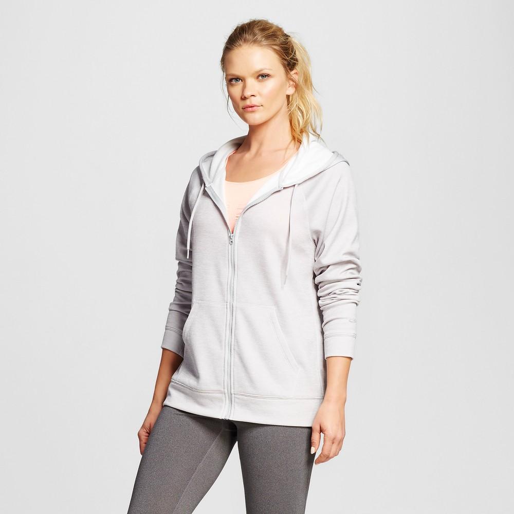 Women's Activewear Sweatshirt - Heather Gray L - C9 Champion, Heather Grey